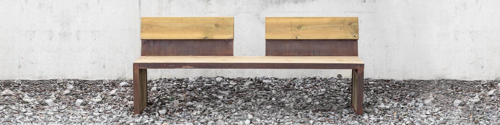 mobiliario urbano - nuevos materiales