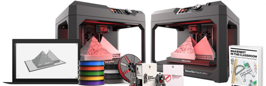 Makerbot 3d printers for classrooms