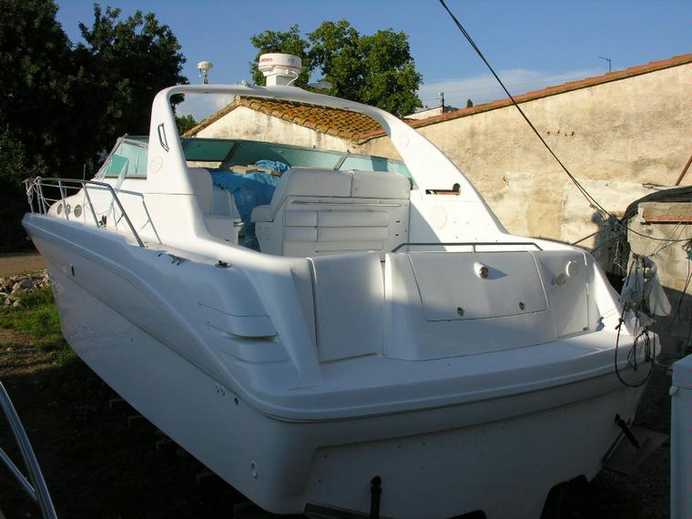 pintura casco barco fibra