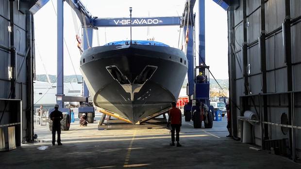 pintura para casco de barco