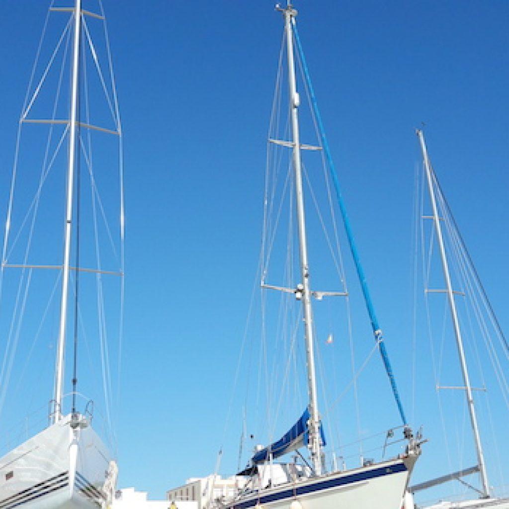 arboladura barco