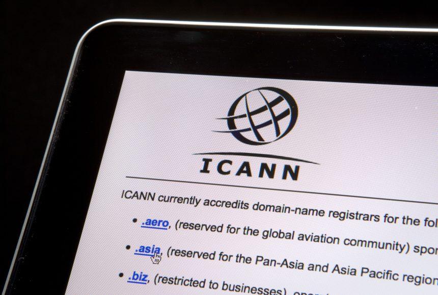 ICANN registro de dominios