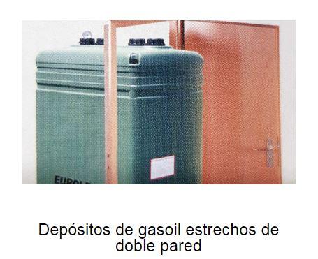 Depósitos de gasoil estrechos de doble pared